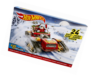 hot wheels 2017 advent calendar vehicle holiday season kids boys christmas gift