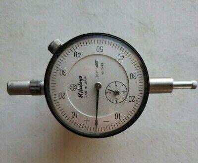 Mitutoyo Travel Dial Indicator 2413 Range .001-.400