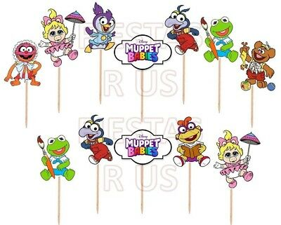 Muppet Babies Cupcake Toppers 12 or 24 pc. Muppet Babies Party Supplies