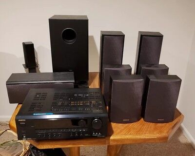ONKYO HT-S780 7.1 Home Theater System. PICK UP ONLY.