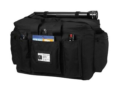 Black Police Law Enforcement Equipment Water Resistant Gear Bag 8165 Rothco