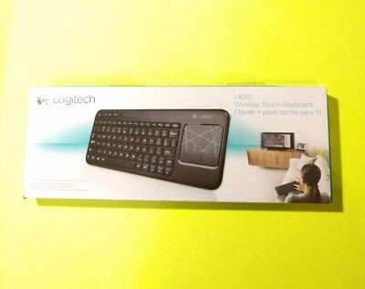Logitech Wireless Touch Keyboard K400 w Built-In Multi-Touch Touchpad 920-003070, usado segunda mano  Embacar hacia Mexico