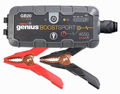 Noco Genius GB20 Boost Sport 12V 400A booster USB avviatore batterie moto auto