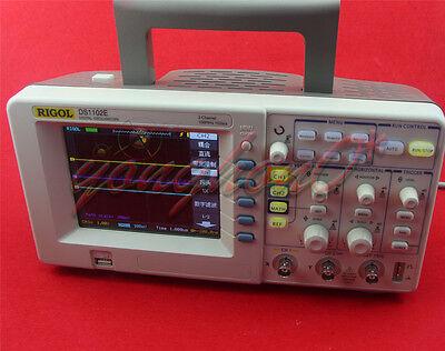 New Rigol Ds1102e Digital Oscilloscope 2-channels 100mhz Bandwidth 1gsas Sam