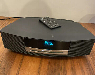 Bose Wave Music System AM/FM Radio Alarm Clock CD Player w/ Remote