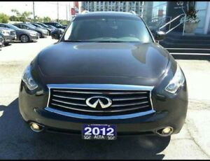 2012 Infiniti FX fully loaded