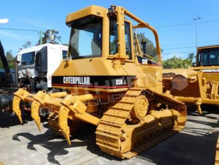 CATERPILLAR D5N XL Bulldozer with Sweeps & Rippers CAT D5
