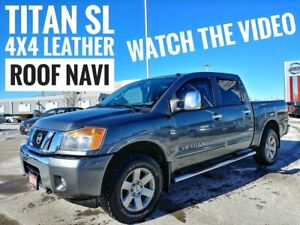 2014 Nissan Titan SL Leather Sunroof Navi  FREE Delivery