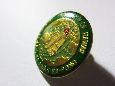 "1990's University Hat, Lapel Pin Tie Tack Hawaii Ua Mau Ke Ea Oka Aina 1""in"