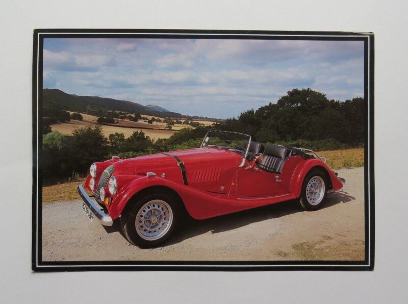 c. 1990 Morgan Plus Eight Brochure Vintage Original