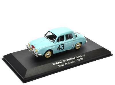 Renault Dauphine Gordini - Tour de Corse - 1959