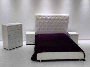 Brand New Pu Leather Queen 4pcs Bedroom Suit French Style Package Seven Hills Blacktown Area Preview