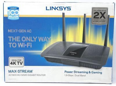 Linksys AC1900 Max-Stream Wi-Fi Router MU-MIMO Gigabit Dual-Band EA7500 No...