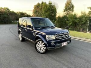 2014 Land Rover Discovery Series 4 L319 MY14 TDV6 Blue 8 Speed Sports Automatic Wagon