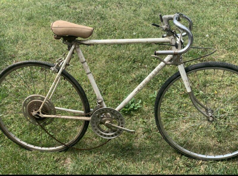 Very Rare Vintage White John Deere Bicycle Mens Road Bike