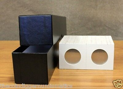 100 MORGAN DOLLAR 2x2 Coin Holder Flips BCW & Single Row Storage Box