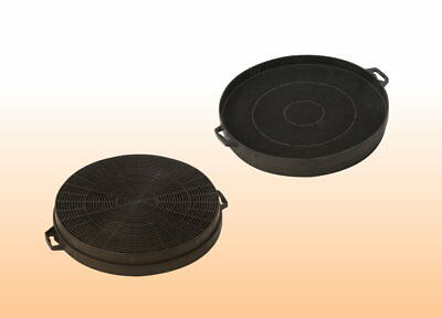 2 Kohlefilter Aktivkohlefilter Filter 210mm Dunstabzugshaube z.B.für AEG Neff#02