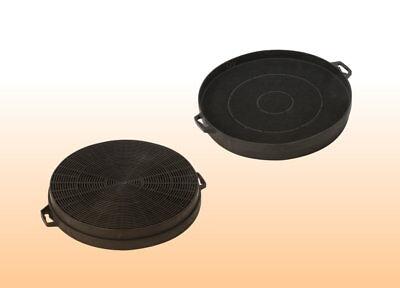 Kohlefilter (2 Aktivkohlefilter Dunstabzugshaube Abzugshaube Filter Kohlefilter 210 mm #00)