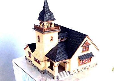 Dept 56 Seasons Bay THE CHAPEL ON THE HILL Lighted Porcelain Building 56.53402