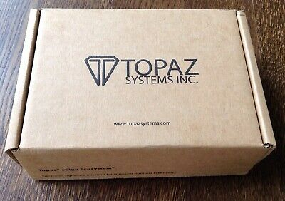 Topaz Signature Pad Model T-lbk462-hsb-r - Brand New