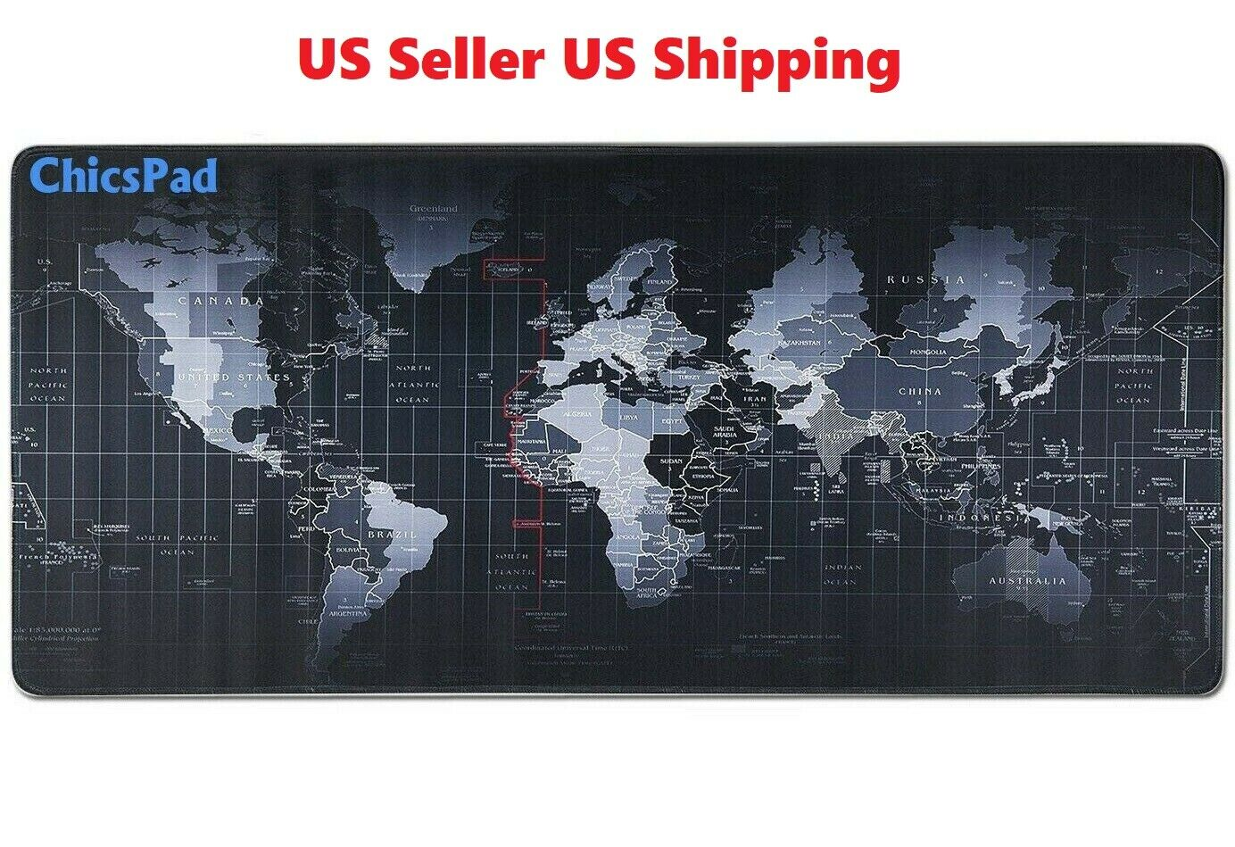 """New Extended XL Gaming Mouse Pad 31.5"""" X 11.8""""W  Desk Keyboa"""