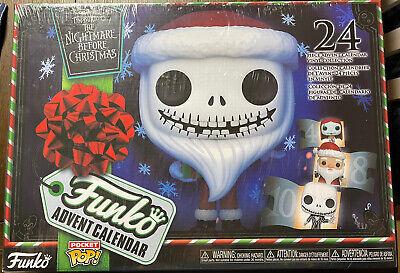 Funko Advent Calendar The Nightmare Before Christmas 24 Pocket Pop Vinyl Figures