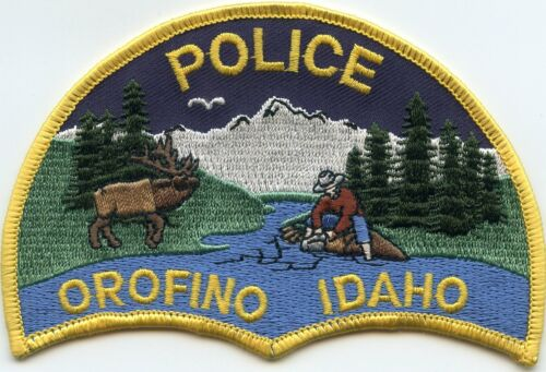 OROFINO IDAHO ID POLICE PATCH