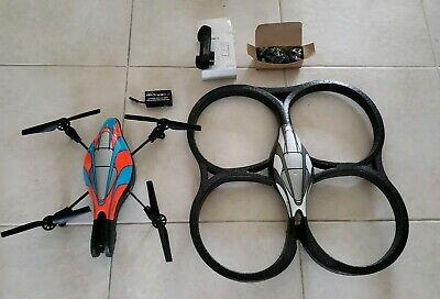 Parrot AR Drone 2.0 with 2 batteries and charger plugs etc. No box