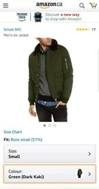 Schott Air Jacket - Khaki colour size S
