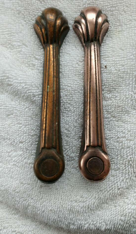 Antique stair carpet clips