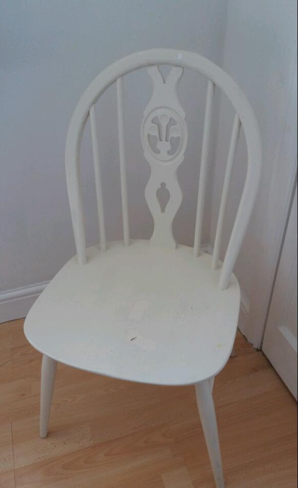 Shabby chic chairin Camberley, SurreyGumtree - Shabby chic chair could be used in bedroom or kitchen. Great for upcycling project as could do with a repaint