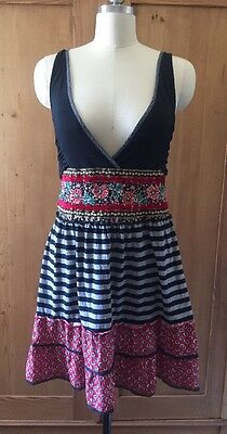Free People Size 8 Bohemian Sundress For Concerts N Dates! Comfy And Cute!