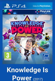 Knowledge is power new sealed PS4 game
