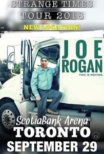 Joe Rogan Toronto September 29th 6 Tickets in a row