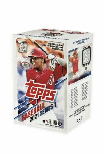 2021 Topps Series 1 Baseball 7 Pack Blaster Box Factory Sealed IN STOCK
