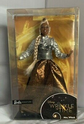 Disney A Wrinkle in Time Barbie Mrs. Which Doll, Oprah Winfrey, Damaged box