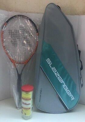 Macgregor Tennis Racquet With Slazenger Xcel Series Tennis Racquet Bag Brand New