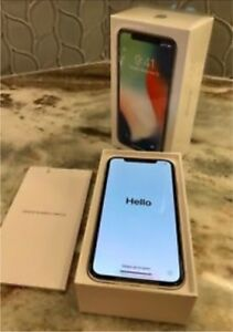 iPhone X's in un believable condition 256 gigabytes