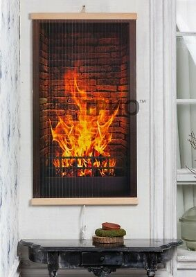 ORIGINAL GIFT Infrared heater panel wall ECONOMY heating panel 400WT FIREPLACE, used for sale  Shipping to Canada