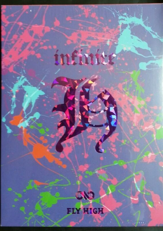 "INFINITE H (HOYA& DONGWOO) ""FLY HIGH"" Mini Album :: CD+POSTER(Option), Kpop,New"