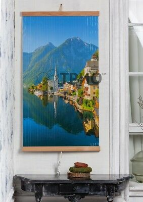 Infrared Heater picture wall heating panel 430W Heating area max.12m2 HALLSTATT, used for sale  Shipping to Canada