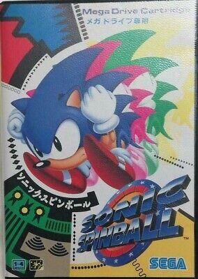 Sonic Pinball Mega Drive Genesis Sega Japan action game