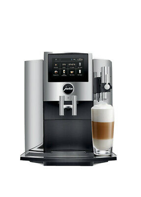 JURA S8 Bean-to-Cup Coffee Machine, Chrome (Brand New Sealed) From UK