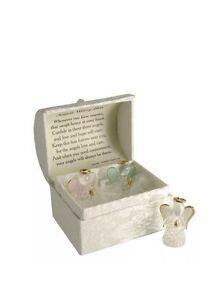 Gift Angel Memory Keepsake Guardian Angel Worry Box and inside Poem