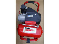 Clarke Pioneer Air Compressor Mk190 with Spray Gun and pressure hose