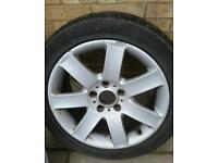 Bmw 17 inch wheel with tyre