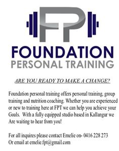Personal training North Lakes Pine Rivers Area Preview