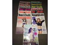 Women's health magazines