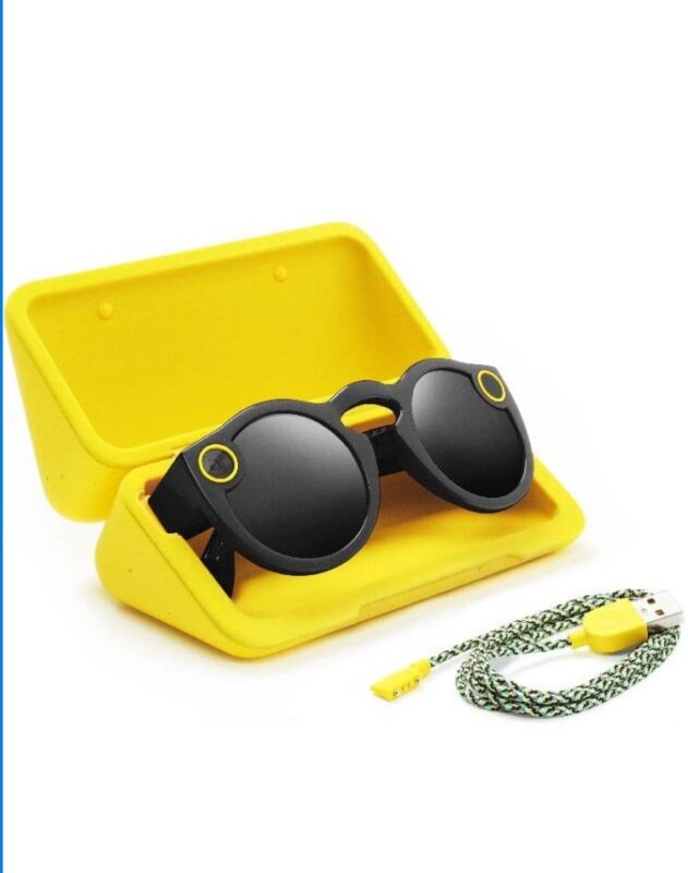 SPECTACLES Just For Snapchat Sunglasses For IPhone - New Sealed Box 2017