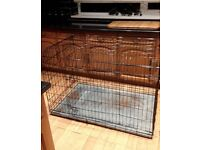 Huge doge cage / crate / folds flat